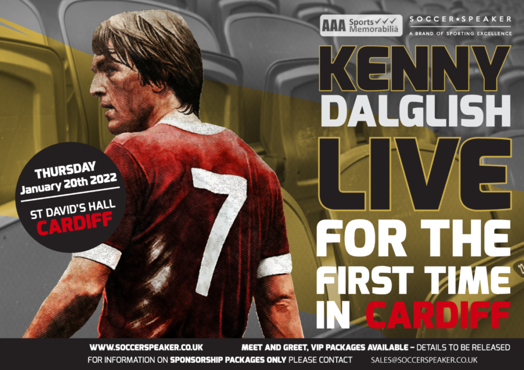 Sir Kenny Dalglish MBE live in Cardiff event